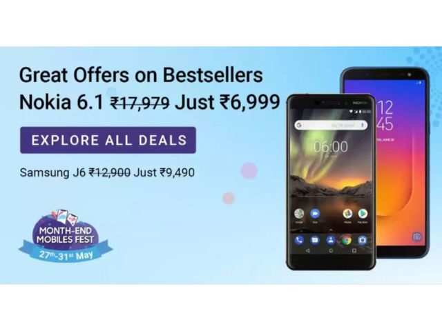 Month-end mobiles fest on Flipkart: Offers on iPhone X, Nokia 6.1, Redmi 6, Honor 10 Lite and more