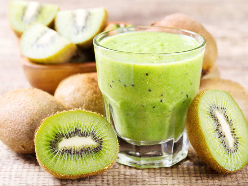 Can You Lose Weight Just By Drinking Kiwi Smoothie Times Of India