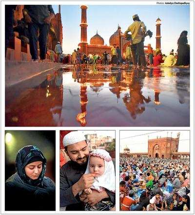 Capital congregates at Shah Jahan's mosque to fast and feast