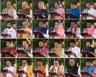 Modi Cabinet Ministers List: Upper castes get big chunk of