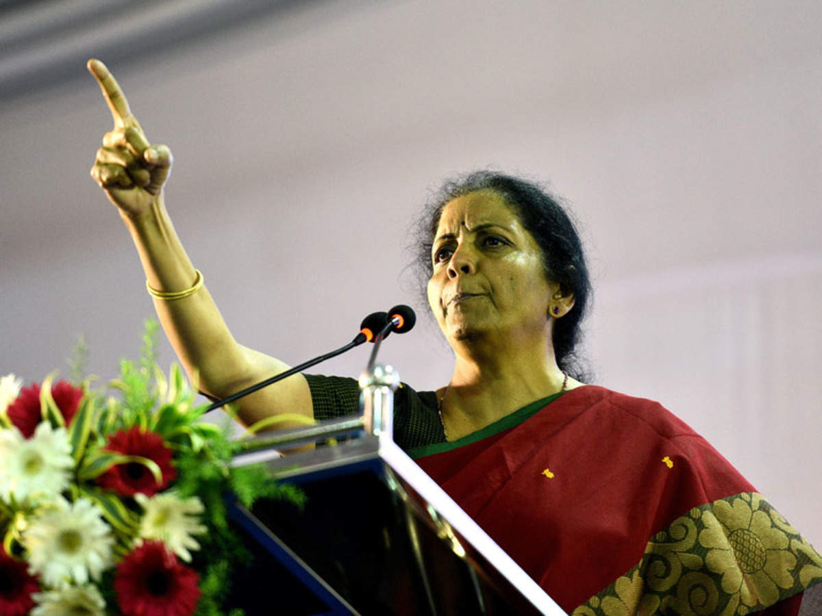 Nirmala Sitharaman Education Family Background A Brief Profile Of New Finance Minister India Business News Times Of India