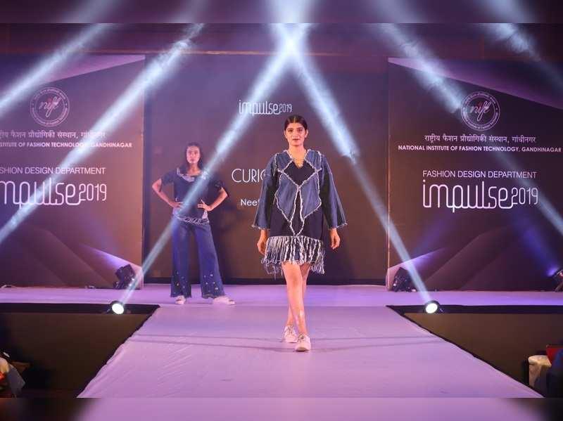 A Fashion Show At Nift Gandhinagar Events Movie News Times Of India