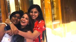 Monal Gajjar had a gala time with her friends