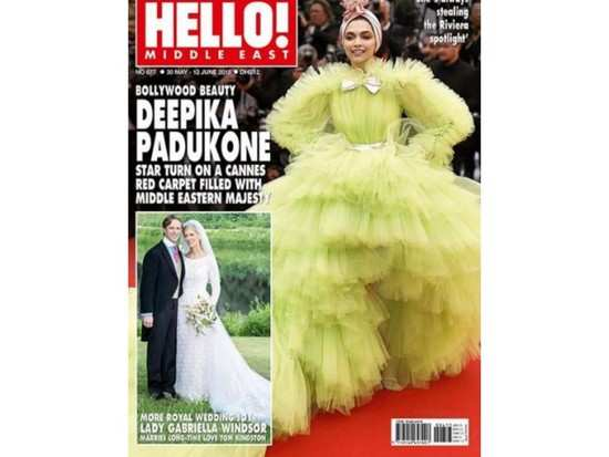 Deepika Padukone's lime green Cannes look is now on the cover of an international magazine!