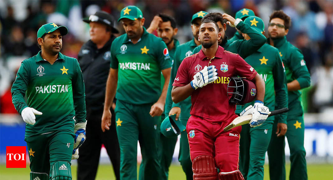 west indies vs pakistan icc world cup 2019 west indies make intent clear with thumping win against pakistan cricket news times of india