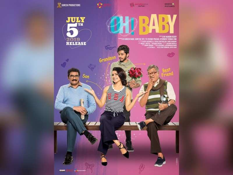 Samantha releases a new poster of 'Oh Baby' explaining her character
