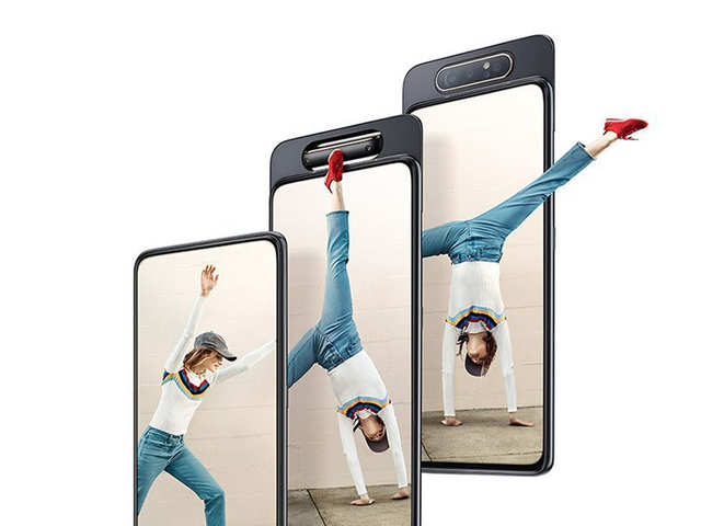 Samsung Galaxy A80 with rotating camera expected to launch in India