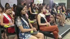 fbb Colors Femina Miss India contestants at grooming session by Blossom Kochhar