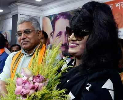 Bangladeshi actor Anju Ghosh joins BJP   India News - Times of India