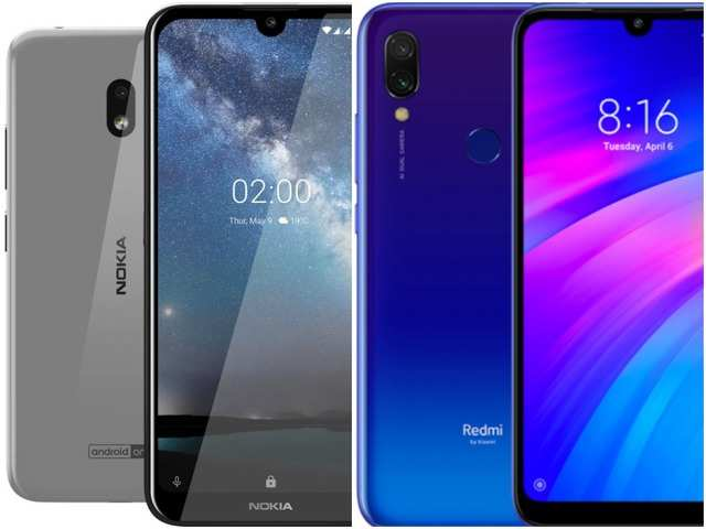 Nokia 2.2 vs Xiaomi Redmi 7: Which is a better smartphone under Rs 9,000