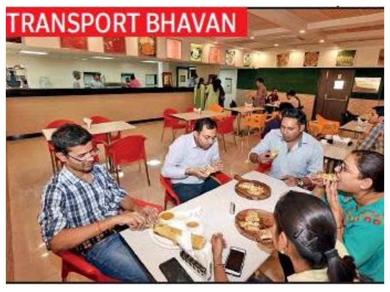 A first-of-its-kind food joint in the captial at Transport Bhavan