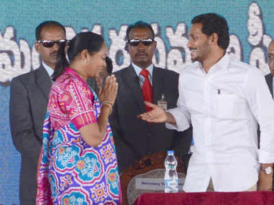 Like dad, CM Jagan makes woman Andhra Pradesh home minister