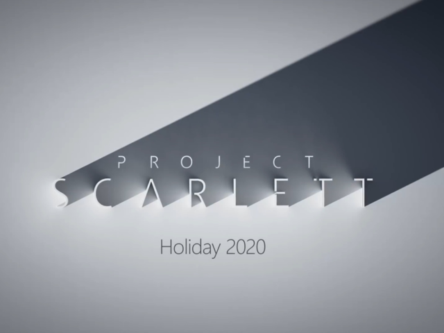 Microsoft announces Sony PlayStation 5 rival, 'Project Scarlett' at E3 2019