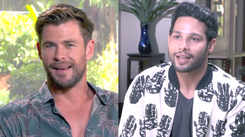Exclusive! Siddhant Chaturvedi in conversation with Chris Hemsworth