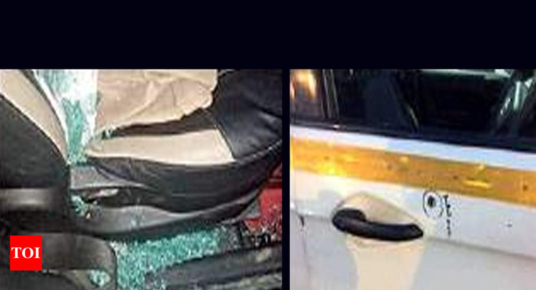 2 Men Who Attacked Tv Crew In Delhi Yet To Be Traced   Delhi News