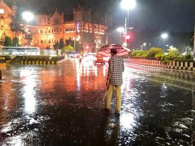 Mumbai weather: Another day of thunder, rains for Mumbai | Mumbai