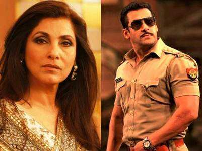 Dimple Kapadia not a part of 'Dabangg 3'