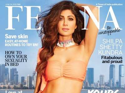 Shilpa Shetty sizzles on the cover of Femina