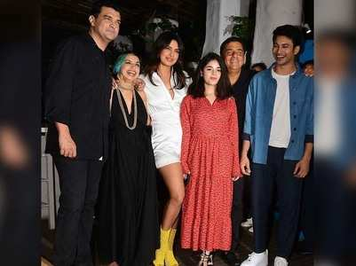 Priyanka sizzles in white at wrap-up party!