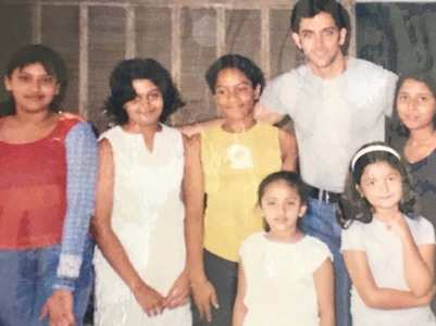 Throwback picture of Alia with Hrithik Roshan
