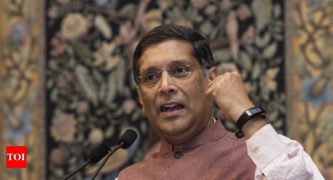 Real GDP growth 2.5% lower than official: Ex-CEA Subramanian