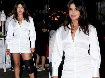 Priyanka's knee injury left her fans anxious