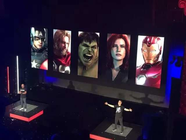 The official Marvel Avengers game to launch next year