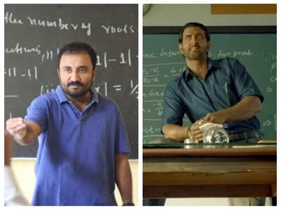 Anand on Hrithik's look in 'Super 30'
