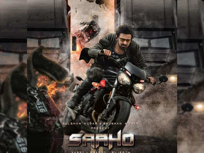 'Saaho': Prabhas' new character poster is out!