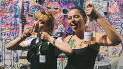 Sophie Turner celebrates bachelorette party with Maisie Williams