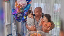 The Rock aka Dwayne Johnson criticised over post on 3-year-old daughter