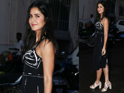 Katrina Kaif just wore the hottest LBD!