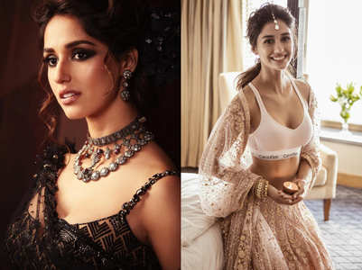 Disha Patani looks sexy in bikinis but she SLAYS in lehengas like nobody