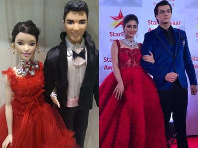 Mohsin-Shivangi get dolls made on them