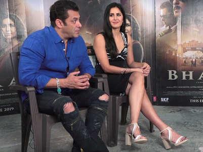 Salman-Katrina get candid on 'Bharat'