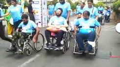 Around 30 wheelchair-bound debut in 2 km half marathon