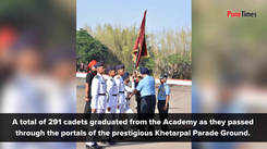 Passing out parade of 136th NDA course