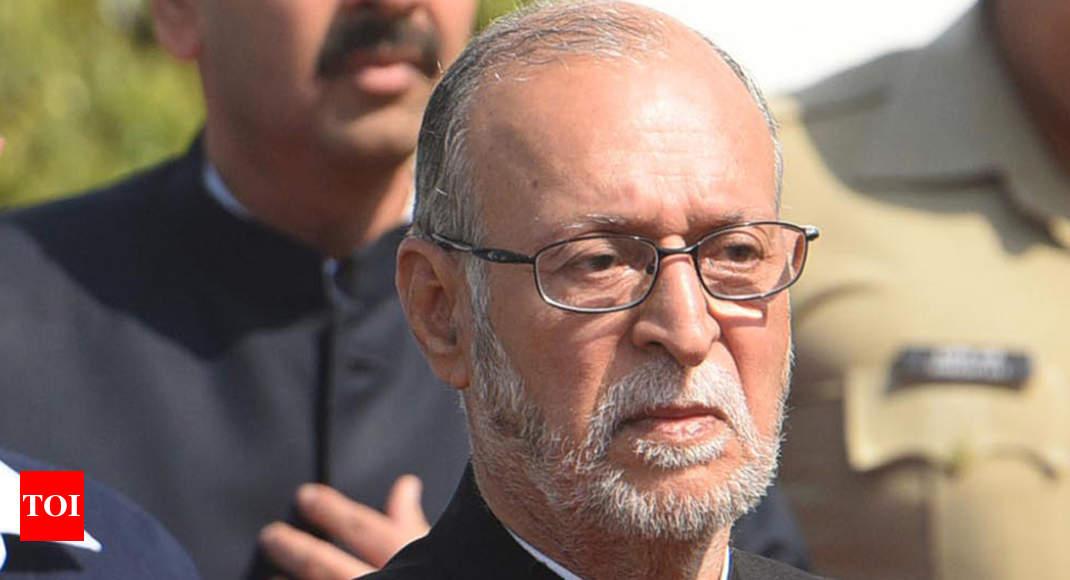 Lieutenant Governor Reviews Delhi Police's Poll Conduct | Delhi News
