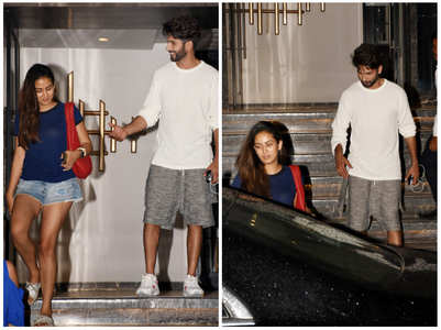 Photos: Shahid and Mira on a dinner date