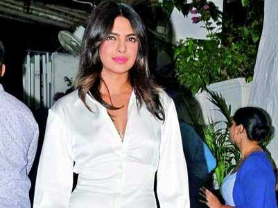 Priyanka completes shoot despite an injury