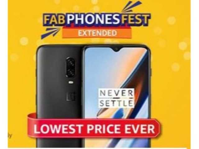 Amazon Fab Phones Fest offers extended for OnePlus 6T and Samsung Galaxy M series smartphones