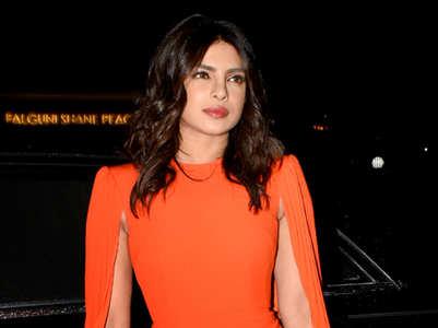 Wear hot tangerine shade like Priyanka Chopra