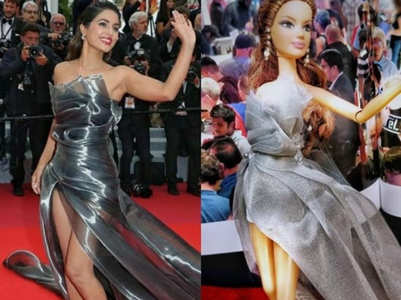 Now, a doll fashioned on Hina's Cannes look