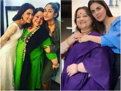 Sriti-Shraddha wish reel mom Supriya