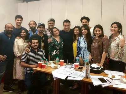 Rohit introduces new cast of Sanjivani
