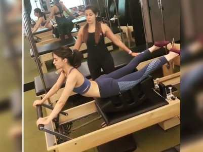 This video of Kriti will make you hit the gym