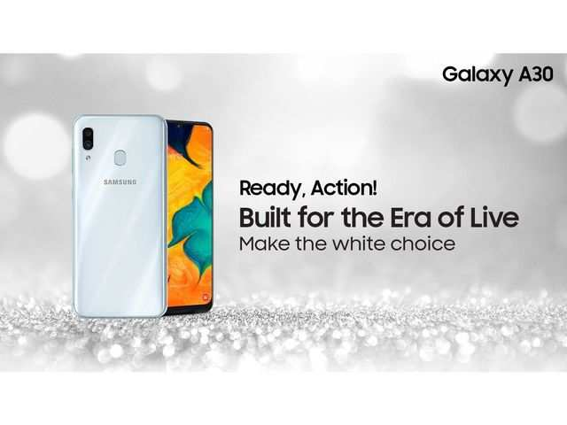 Samsung Galaxy A30 gets a new colour variant