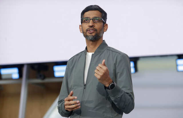 "Google CEO Sundar Pichai cautions against regulating tech giants just ""for the sake of it"""
