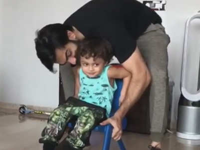 Karan Mehra-Nisha's son Kavish turns 2