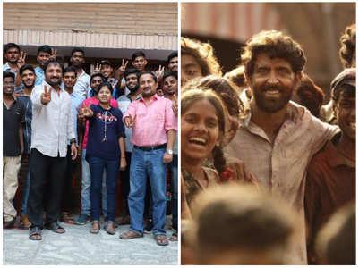 Hrithik congratulates Anand Kumar's students